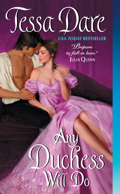 Cover for Any Duchess Will Do