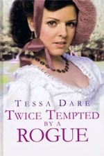 Twice Tempted by a Rogue (Large Print)