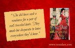 Quote: She did have a weakness for a pair of well-traveled boots.