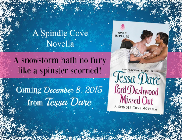 Lord Dashwood Missed Out - December 8