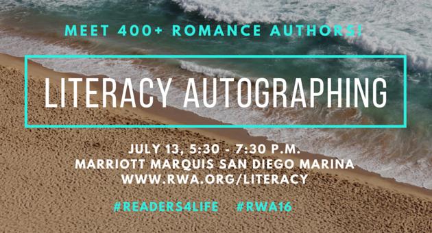 RWA 2016 Literacy Signing