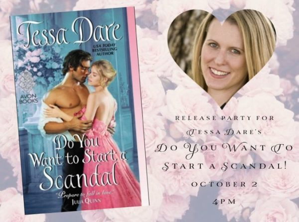 In-person and virtual release party at the Ripped Bodice bookstore in Culver City, CA - 4pm Pacific Time