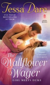 Cover of The Wallflower Wager